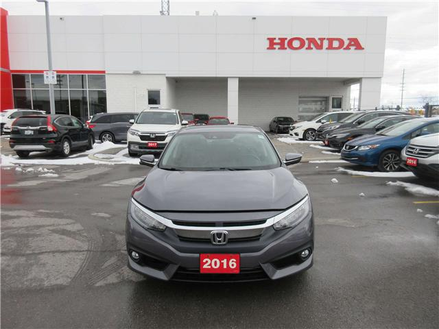 2016 Honda Civic Touring (Stk: 26553L) in Ottawa - Image 1 of 13