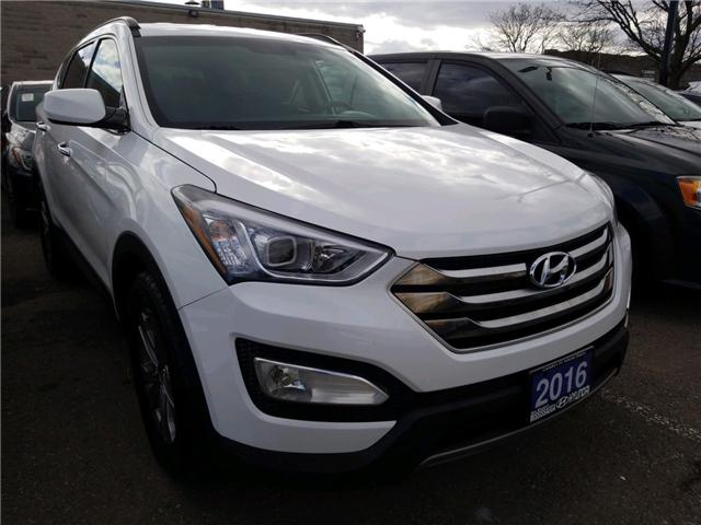 2016 Hyundai Santa Fe Sport 2.4 Base (Stk: P39812A) in Mississauga - Image 3 of 5