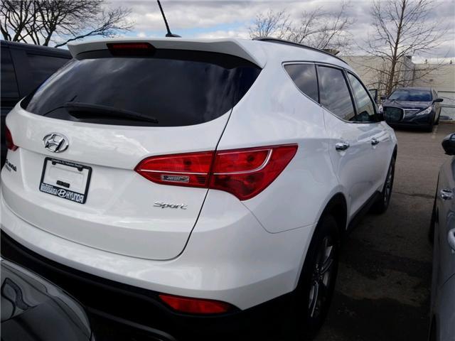 2016 Hyundai Santa Fe Sport 2.4 Base (Stk: P39812A) in Mississauga - Image 4 of 5