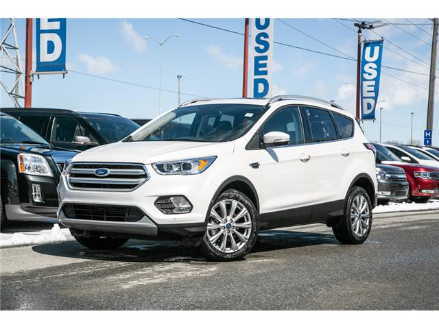 2018 Ford Escape TITANIUM LEATHER-NAV-AWD-POWER ROOF-LOADED (Stk: 948750) in Ottawa - Image 1 of 28