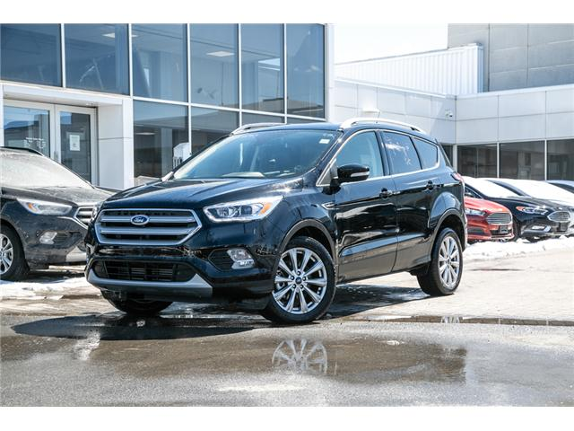 2018 Ford Escape TITANIUM 16,000KMS-LEATHER-NAV-POWER ROOF (Stk: 948760) in Ottawa - Image 1 of 27