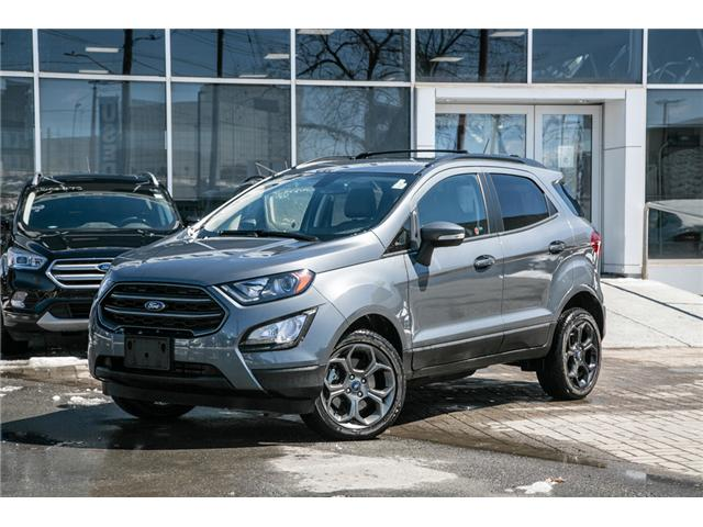 2018 Ford EcoSport SES AWD-NAV-LEATHER-ONLY 14,000 KMS (Stk: 1912042) in Ottawa - Image 1 of 30