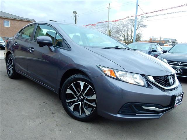 2015 Honda Civic EX (Stk: 2HGFB2) in Kitchener - Image 1 of 27