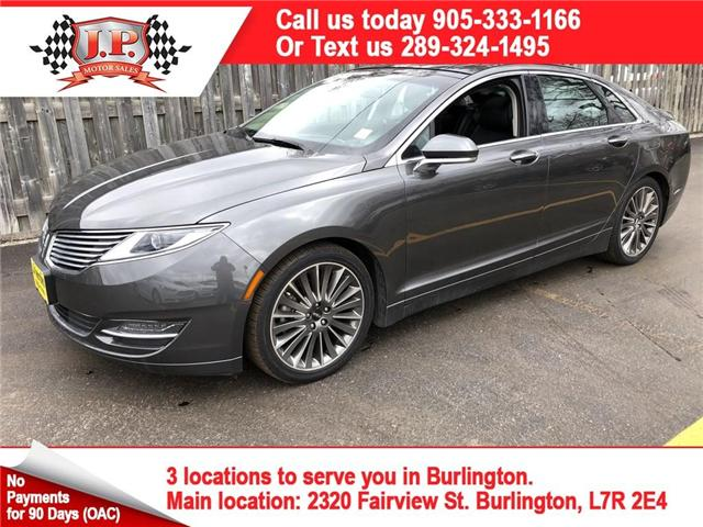 2015 Lincoln MKZ Base (Stk: 46237) in Burlington - Image 1 of 24