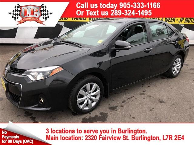 2016 Toyota Corolla  (Stk: 45590) in Burlington - Image 1 of 24