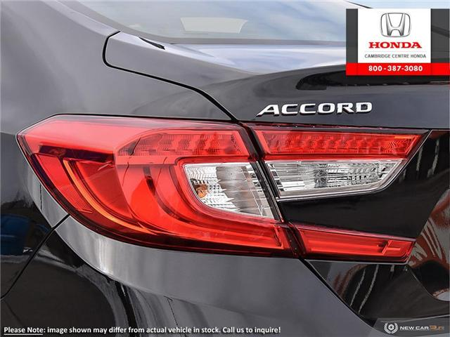 2019 Honda Accord Touring 2.0T (Stk: 19662) in Cambridge - Image 11 of 24