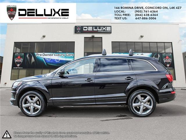 2015 Audi Q7 3.0T Sport (Stk: D0544) in Concord - Image 3 of 26