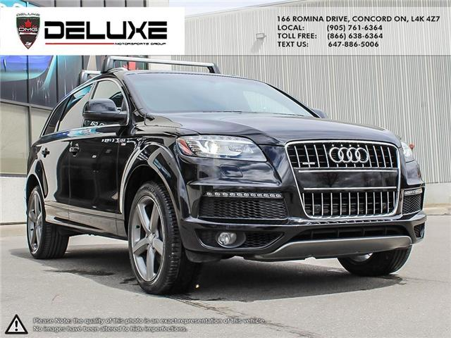 2015 Audi Q7 3.0T Sport (Stk: D0544) in Concord - Image 7 of 26