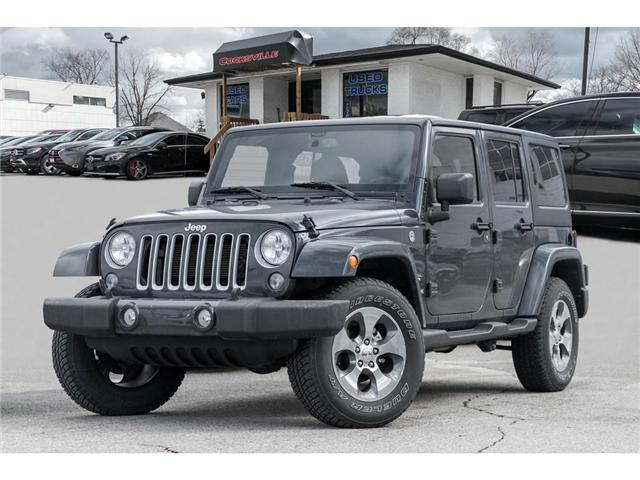 2018 Jeep Wrangler JK Unlimited Sahara (Stk: 7893PR) in Mississauga - Image 1 of 17