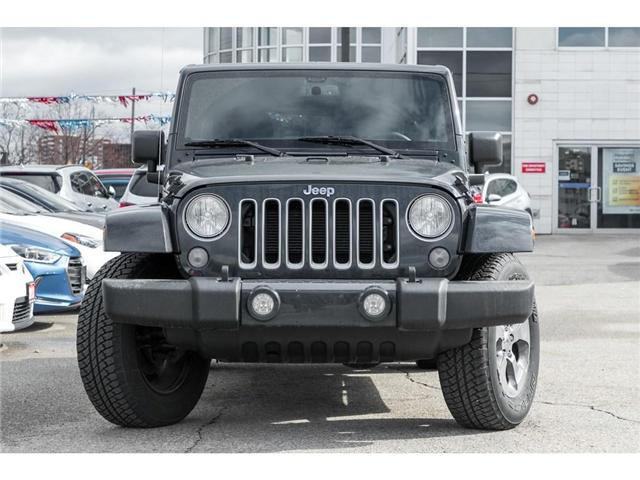 2018 Jeep Wrangler JK Unlimited Sahara (Stk: 7893PR) in Mississauga - Image 2 of 17