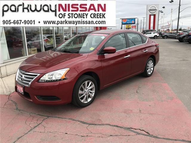 2015 Nissan Sentra 1.8 (Stk: N1428) in Hamilton - Image 1 of 12