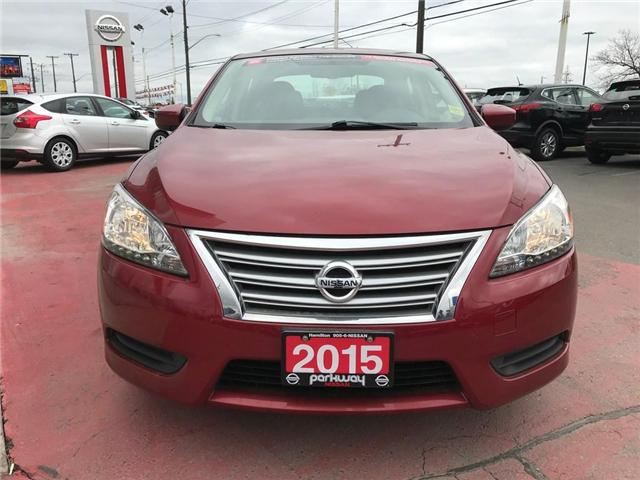 2015 Nissan Sentra 1.8 (Stk: N1428) in Hamilton - Image 7 of 12