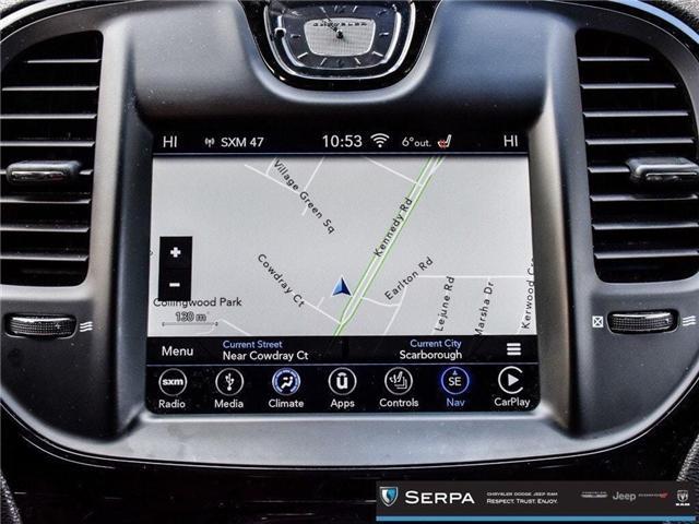 2018 Chrysler 300 S (Stk: P9094) in Toronto - Image 25 of 29