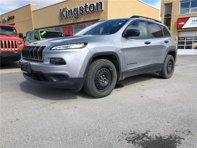 2016 Jeep Cherokee Sport (Stk: 18A154A) in Kingston - Image 1 of 21