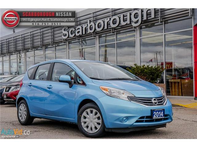 2014 Nissan Versa Note 1.6 SV (Stk: K19022A) in Scarborough - Image 1 of 24