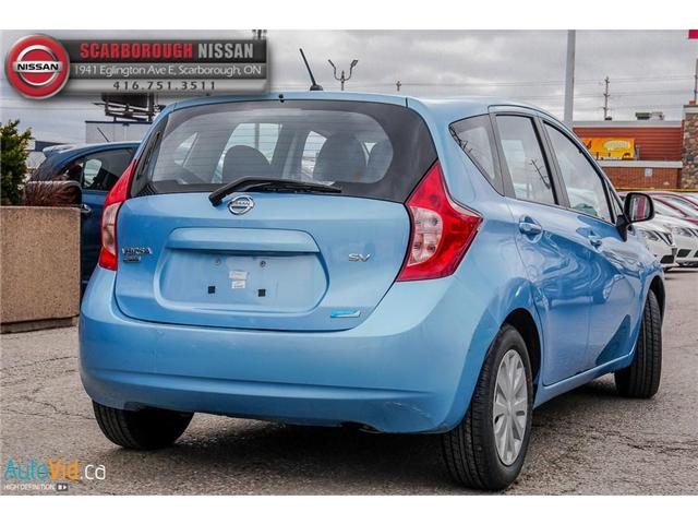 2014 Nissan Versa Note 1.6 SV (Stk: K19022A) in Scarborough - Image 4 of 24