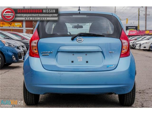2014 Nissan Versa Note 1.6 SV (Stk: K19022A) in Scarborough - Image 5 of 24