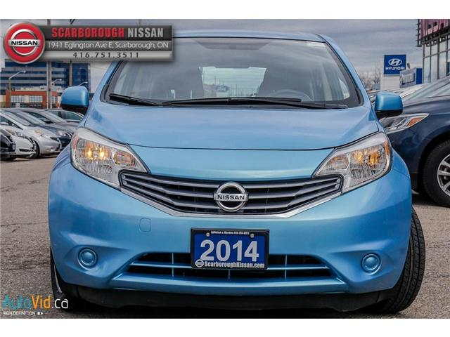2014 Nissan Versa Note 1.6 SV (Stk: K19022A) in Scarborough - Image 9 of 24