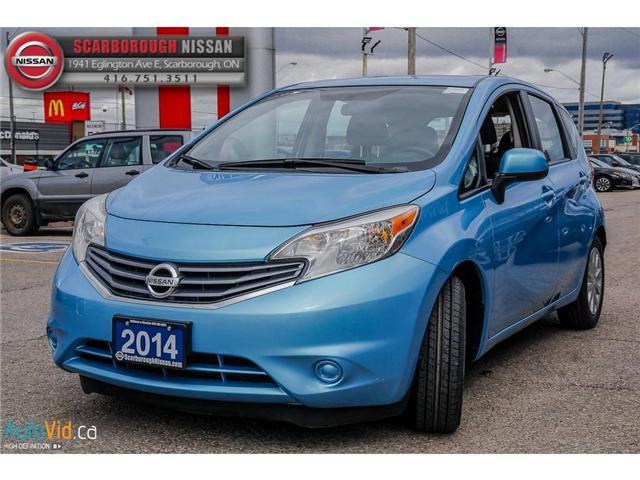 2014 Nissan Versa Note 1.6 SV (Stk: K19022A) in Scarborough - Image 10 of 24