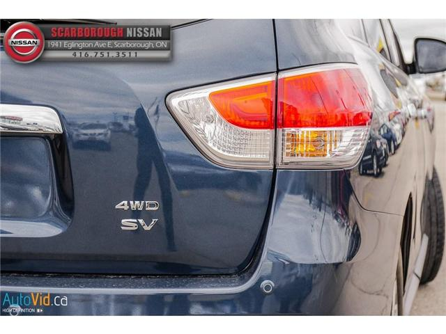 2013 Nissan Pathfinder  (Stk: 519020A) in Scarborough - Image 4 of 26