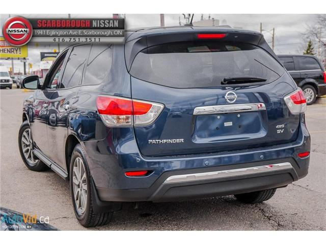 2013 Nissan Pathfinder  (Stk: 519020A) in Scarborough - Image 5 of 26