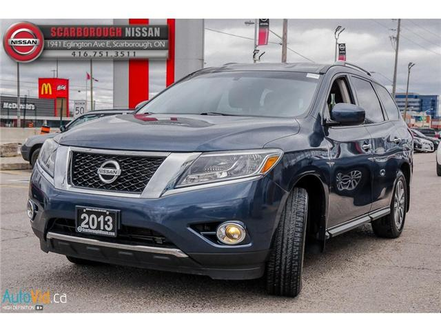 2013 Nissan Pathfinder  (Stk: 519020A) in Scarborough - Image 7 of 26