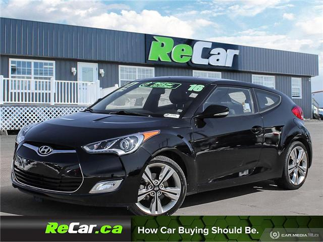 2016 Hyundai Veloster Tech (Stk: 190374a) in Fredericton - Image 1 of 25