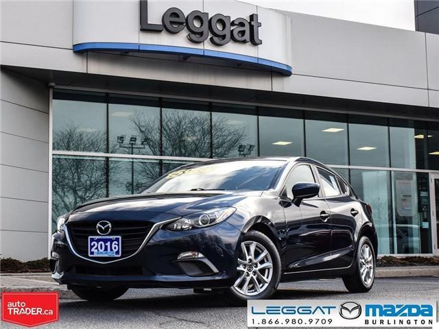 2016 Mazda Mazda3 GS-HEATED SEATS, BLUETOOTH, USB INPUTS (Stk: 1839) in Burlington - Image 1 of 23