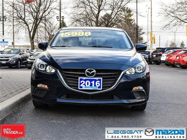 2016 Mazda Mazda3 GS-HEATED SEATS, BLUETOOTH, USB INPUTS (Stk: 1839) in Burlington - Image 2 of 23