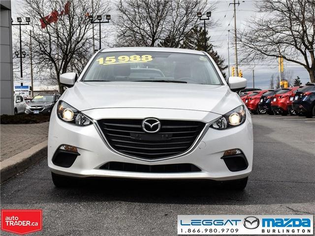 2016 Mazda Mazda3 GS-AUTOMATIC, HEATED SEATS, REAR CAMERA (Stk: 1842LT) in Burlington - Image 2 of 21