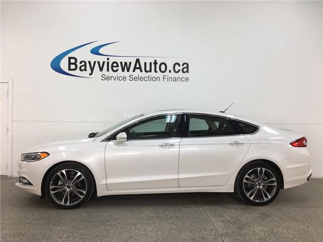 2018 Ford Fusion Titanium (Stk: 34746W) in Belleville - Image 1 of 30