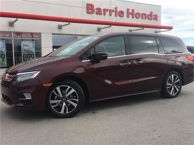 2019 Honda Odyssey Touring (Stk: 19805) in Barrie - Image 1 of 12