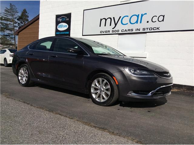 2015 Chrysler 200 C (Stk: 190352) in North Bay - Image 1 of 21