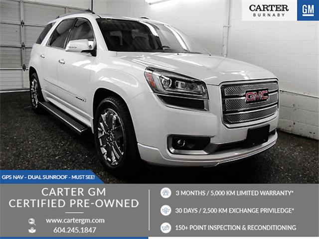 2016 GMC Acadia Denali (Stk: R9-33831) in Burnaby - Image 1 of 24
