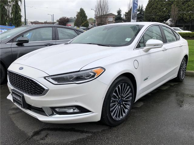 2018 Ford Fusion Energi Platinum (Stk: 18533) in Vancouver - Image 1 of 7
