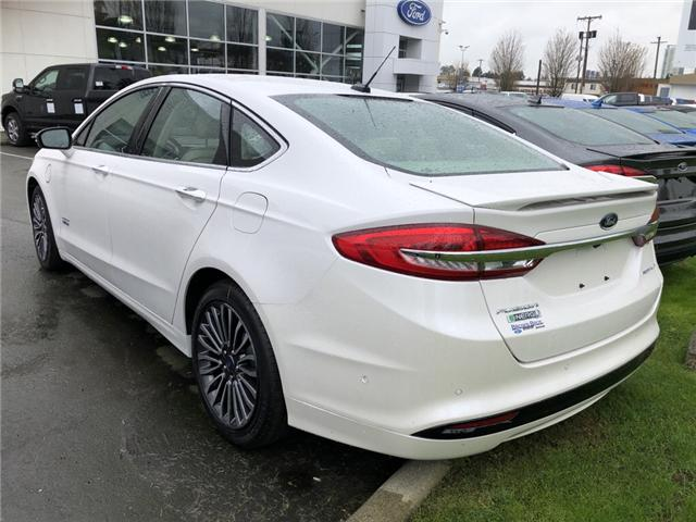 2018 Ford Fusion Energi Platinum (Stk: 18533) in Vancouver - Image 2 of 7