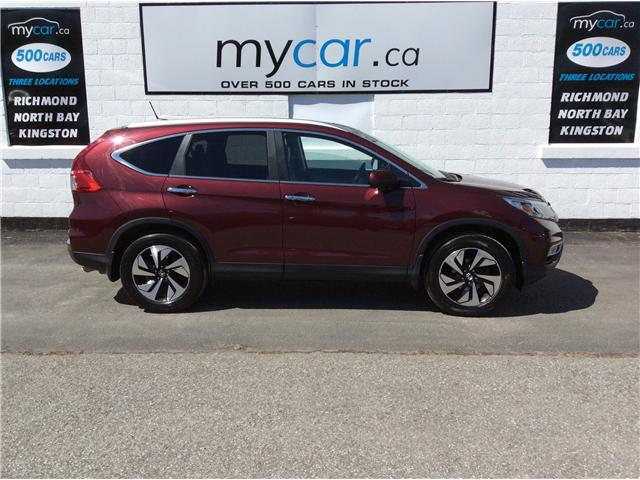 2015 Honda CR-V Touring (Stk: 190402) in Richmond - Image 2 of 20