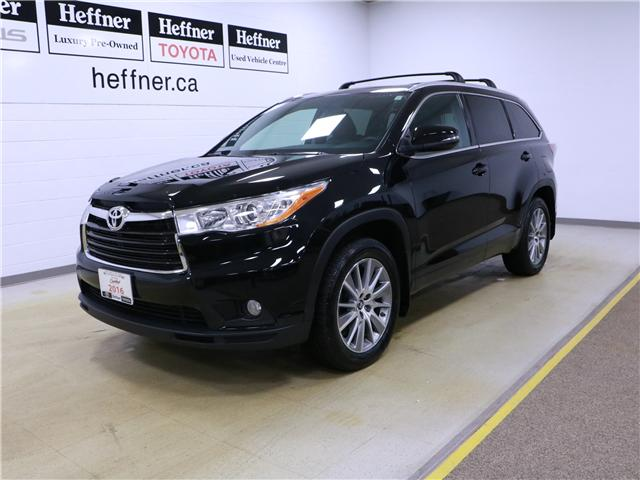 2016 Toyota Highlander XLE (Stk: 195229) in Kitchener - Image 1 of 29