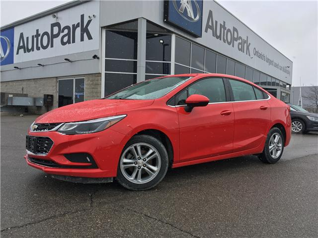 2017 Chevrolet Cruze LT Auto (Stk: 17-90990RJB) in Barrie - Image 1 of 26