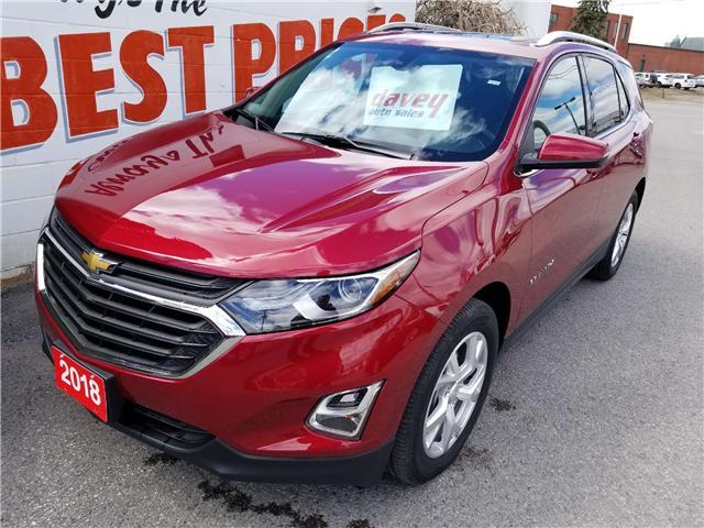 2018 Chevrolet Equinox LT (Stk: 19-233) in Oshawa - Image 1 of 17