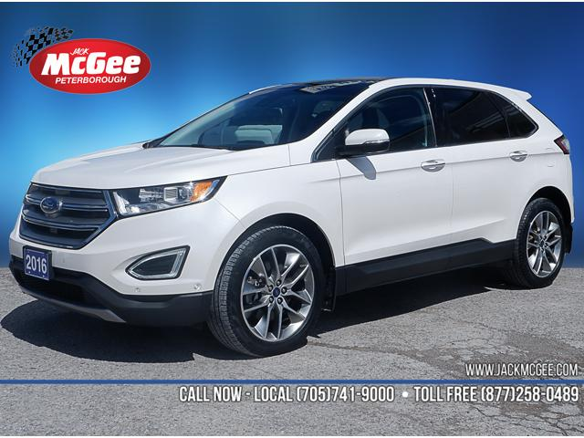 2016 Ford Edge Titanium (Stk: 19444A) in Peterborough - Image 1 of 20