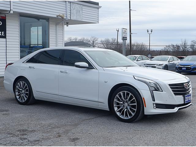 2018 Cadillac CT6 3.0L Twin Turbo Premium Luxury (Stk: P18009) in Peterborough - Image 9 of 18