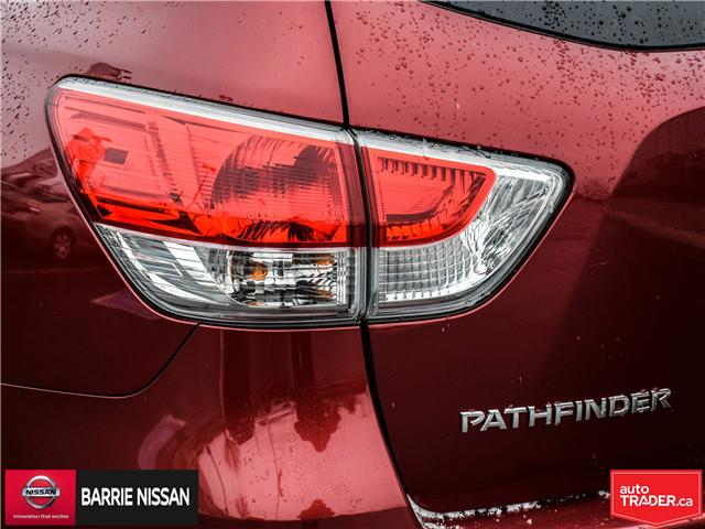 2014 Nissan Pathfinder SL (Stk: 19218A) in Barrie - Image 10 of 28