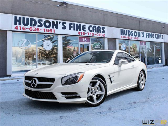 2013 Mercedes-Benz SL-Class Base (Stk: 09800) in Toronto - Image 1 of 26