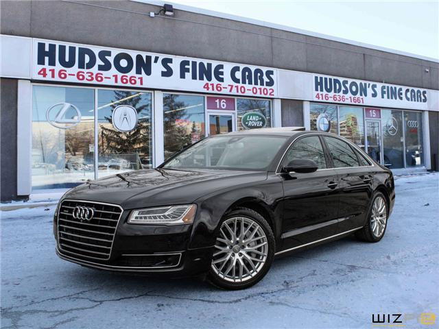 2015 Audi A8 3.0T (Stk: 10300) in Toronto - Image 1 of 30