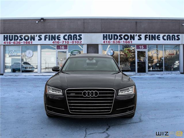 2015 Audi A8 3.0T (Stk: 10300) in Toronto - Image 2 of 30