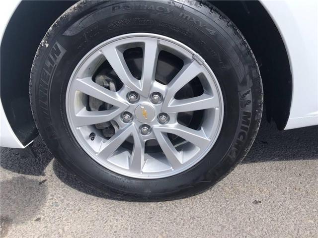 2018 Chevrolet Sonic LT Auto (Stk: 46555r) in Burlington - Image 22 of 23