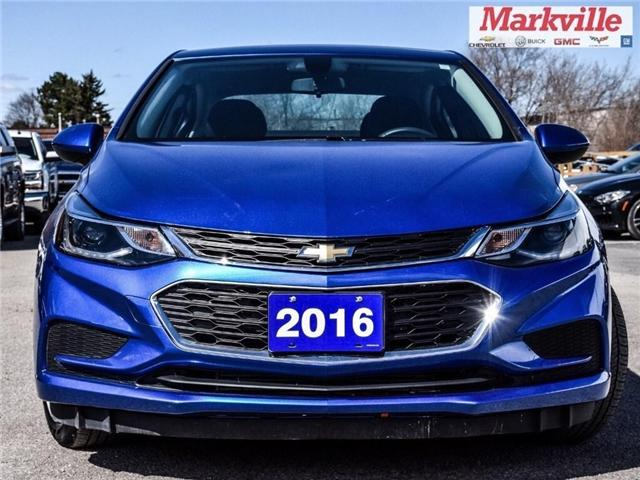 2016 Chevrolet Cruze LT-NEW STYLE-GM CERTIFIED PRE-OWNED-1 OWNER (Stk: P6308) in Markham - Image 2 of 27