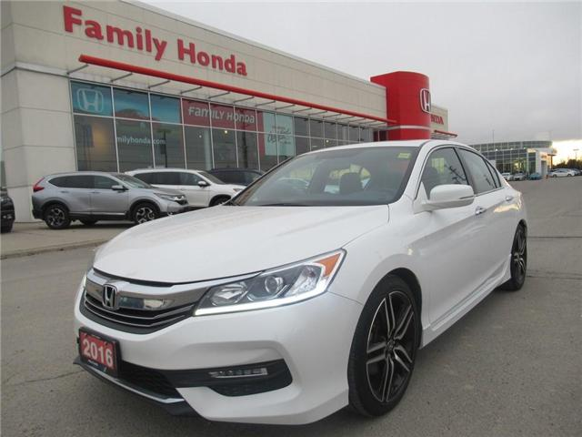 2016 Honda Accord Sport (Stk: U03441) in Brampton - Image 1 of 29