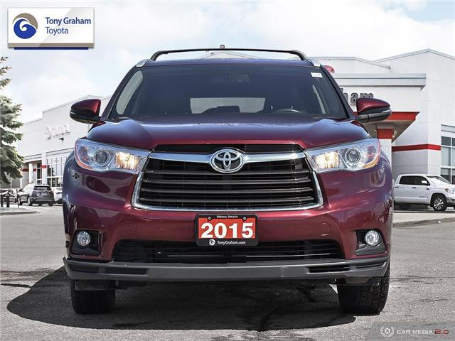 2015 Toyota Highlander XLE (Stk: E7788) in Ottawa - Image 2 of 28